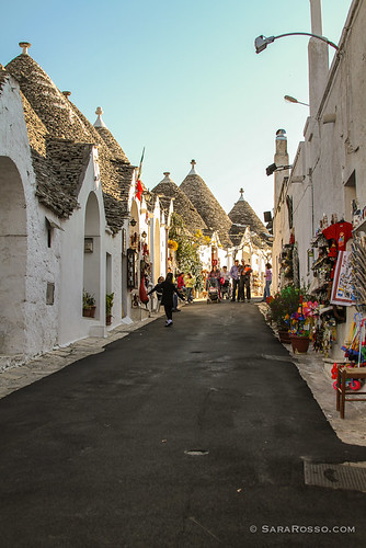 Alberello's rows of trulli, Puglia