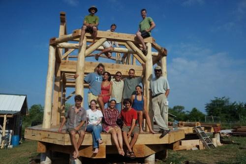 Timber Frame Workshop 2012