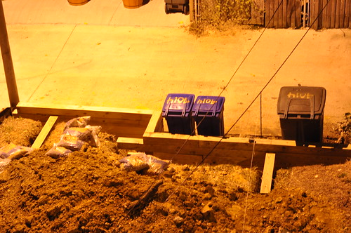 Retaining Wall Night 2012-09-16