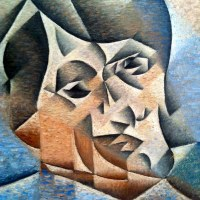 Portrait of Pablo Picasso by Juan Gris, 1912