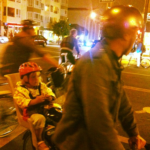 Kidical mass on way to Dolores park #criticalmass #sfcm20 #cm20 #cmsf20