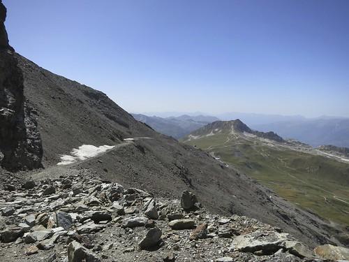 route to Glacier du Varet