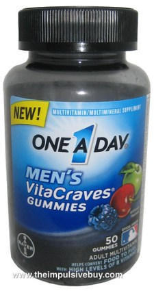 One A Day Men's VitaCraves Gummies