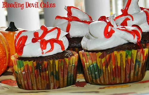 Bleeding Devil Cakes