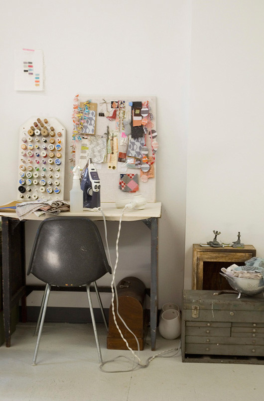 Lotta Jansdotter's Studio in Brooklyn