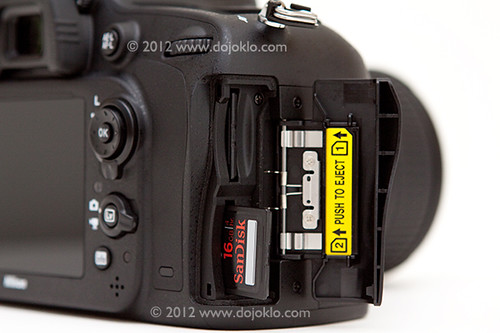 Nikon D600 dual two card slot memory SD body detail learn use book manual guide