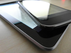 nexus 7 tablet and the nexus 4 phone