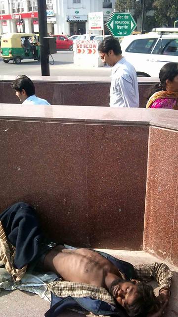Delhi's Bandaged Moments – Job, BKS Marg Subway