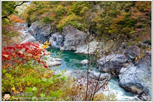 [日本關東楓紅之旅4-2]鬼怒川:鬼斧神工的龍王峽
