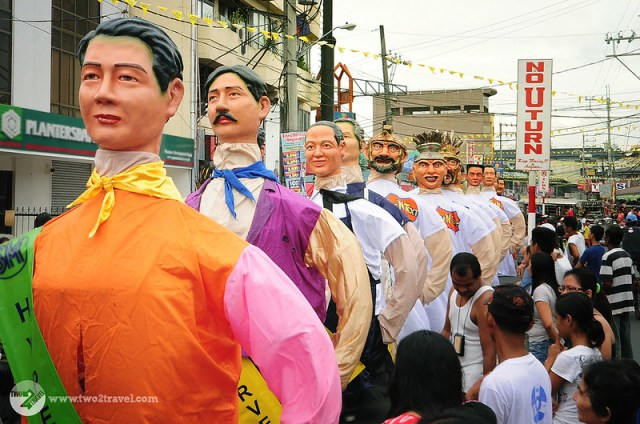 TWO2TRAVEL | Rizal | Higantes festival