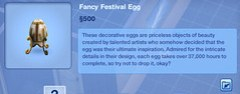 Fancy Festival Egg