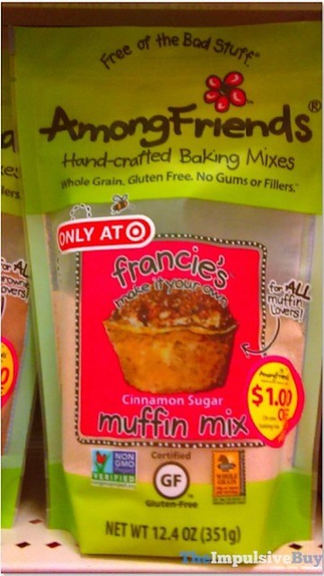 Among Friends Francie's Cinnamon Sugar Muffin Mix