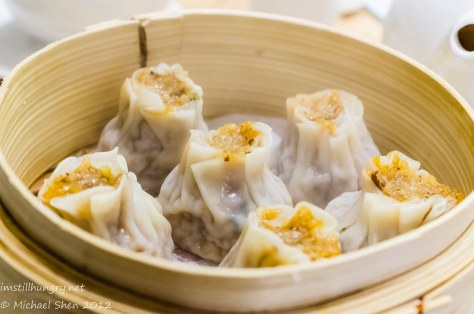 Taste of Shanghai Braised pork dumplings w/sticky glutinous rice rice