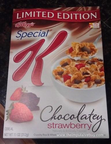 Limited Edition Special K Chocolatey Strawberry