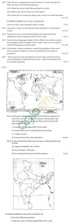 CBSE Board Exam 2013 Class 12 Sample Question Paper for Geography