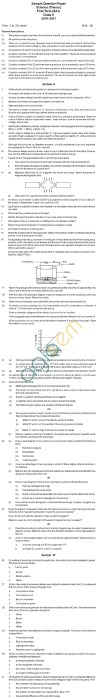 CBSE Board Exam 2013 Sample Papers (SA1): Class IX   Science