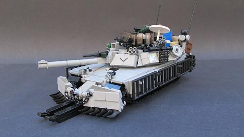 M1A3 SEP V.3 w/ TUSK V.2 Abrams MBT