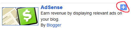 adsense gadget