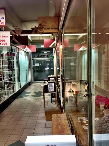The inside of Bon Marche Arcade