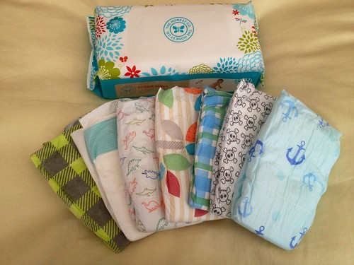 cut baby boy diaper bundle