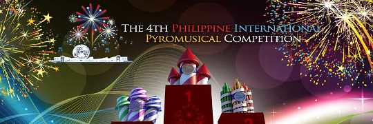 Philippine International Pyromusical Competition Schedule 2013