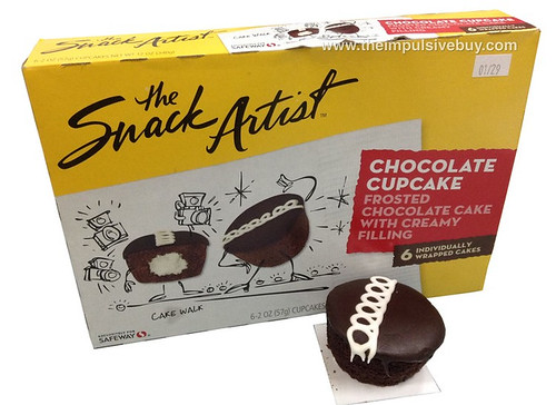 The Snack Artist Chocolate Cupcake