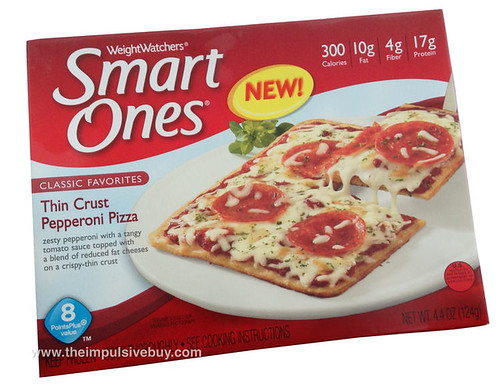 Weight Watchers Smart Ones Thin Crust Pepperoni Pizza