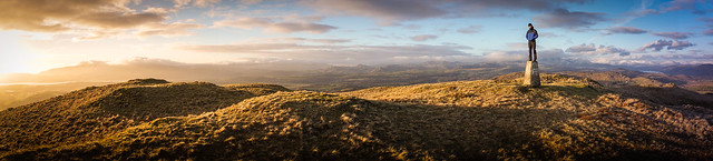 Burney Fell, South Lakes (Panorama)