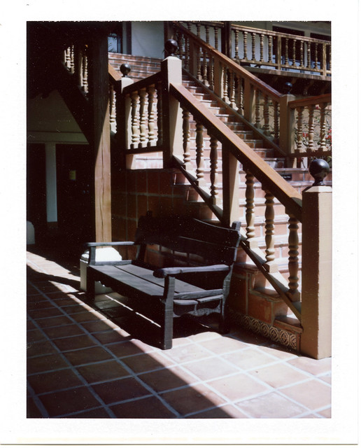 The Bench and Stairs