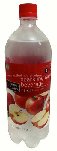 Market Pantry Fuji Apple Sparking Water Beverage