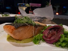 Salmon at Sinko Bar