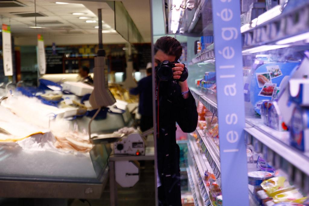 Tuukka13 - REFLECTIONS PHOTO SERIES – SELF-SHOTS ON THE STREETS - La Motte-Picquet – Grenelle, Paris - 04/2012