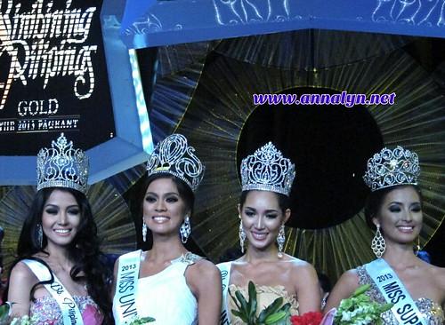 Bb. Pilipinas 2013 winners
