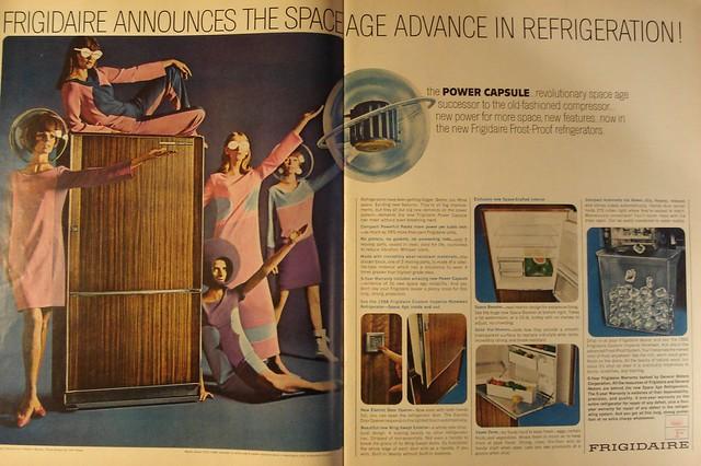 Frigidaire Refrigerator Life Magazine Advertisement November 1965