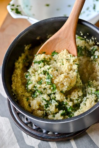 Herbed Quinoa-6
