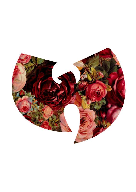 Print Inspiration Mood Board - Roses & Bandanas - Wu Tang Clan