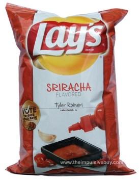 Lay's Do Us a Flavor Finalist Sriracha Potato Chips