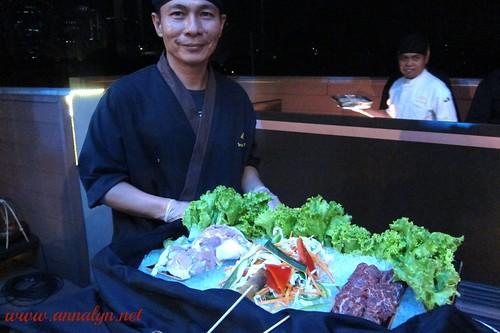 Buddha Bar waiter