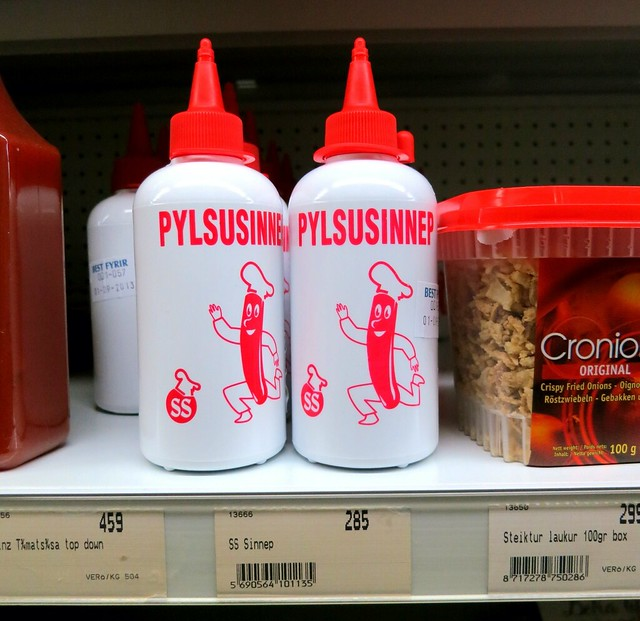 Pylsusinnep, Iceland 2013