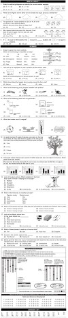 NCO 2014 2nd Level Sample Papers - Class 3