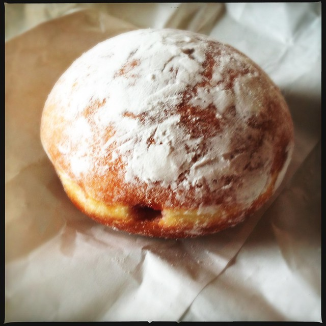 Jelly filled Pączki