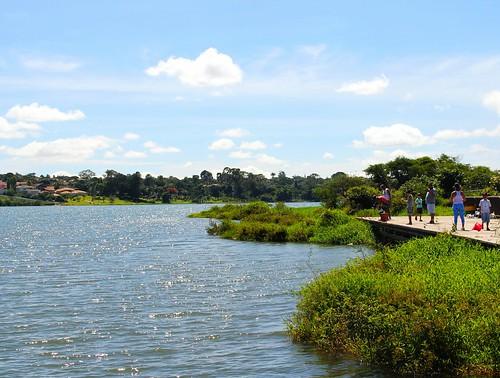 Caiaque no Lago Paranoá