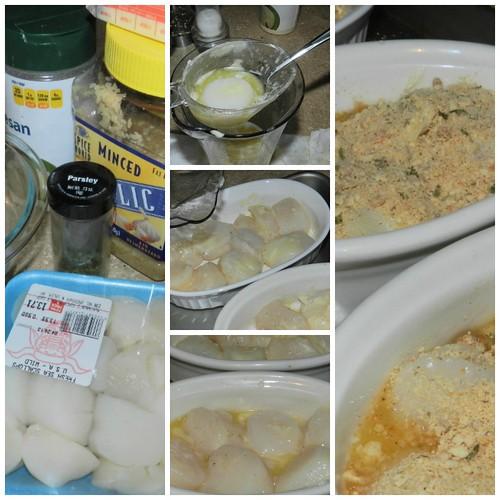 Baked Spanish Scallops