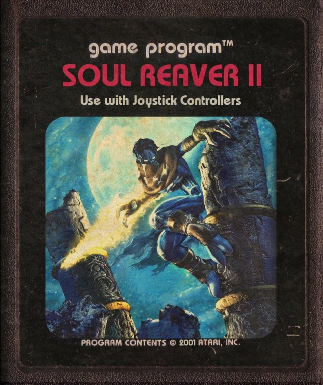 Soul Reaver II Atari Cartridge