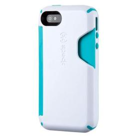speck candyshell iphone case peacock white wallet card