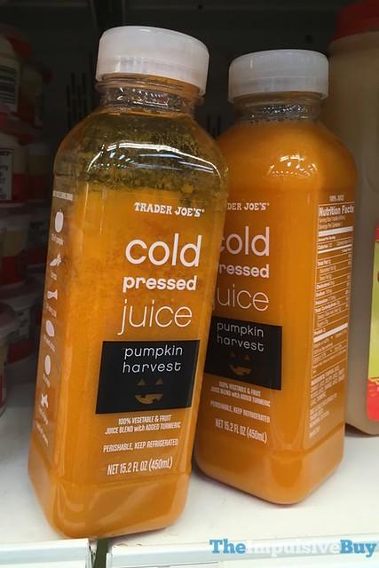 Trader Joe's Pumpkin Harvest Cold Pressed Juice