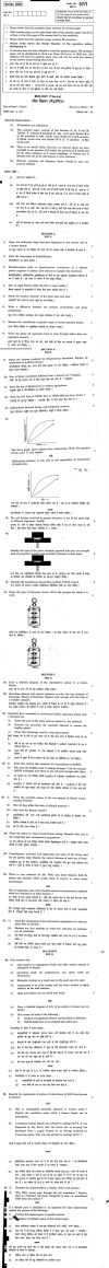 CBSE Class XII Previous Year Question Papers 2011: Biology