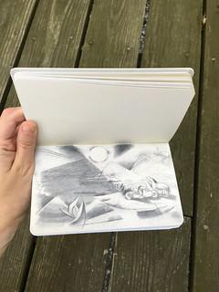 Franz Marc Sketchbook from Battlefield - 5
