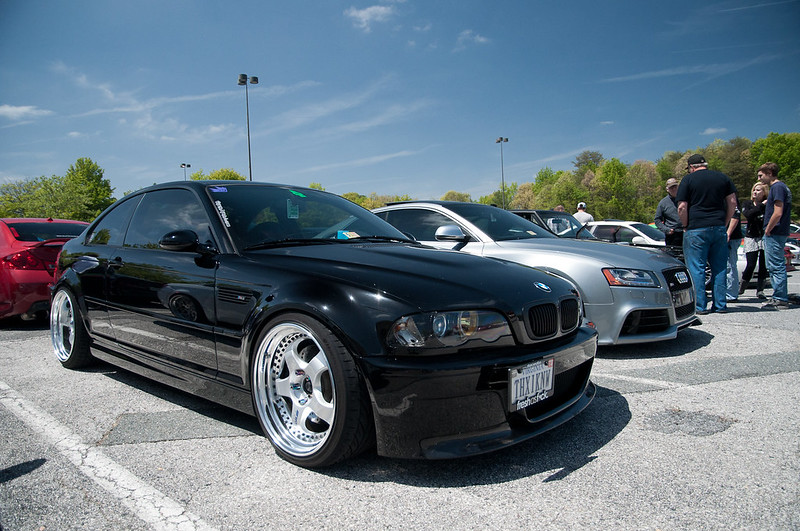 black E46 M Work Meisters