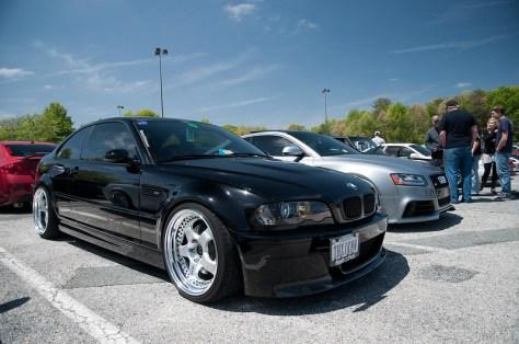 black E46 M Work Meisters